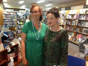 Jo meets Monica McInerney!