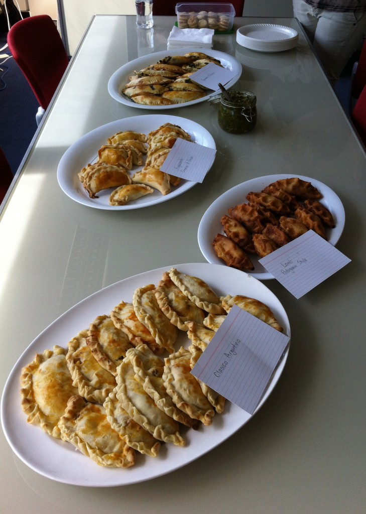 The Empanada Spread
