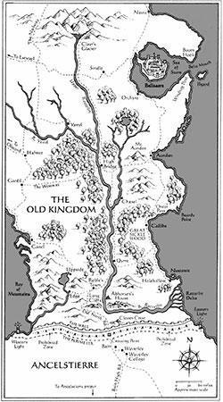 old kingdom map