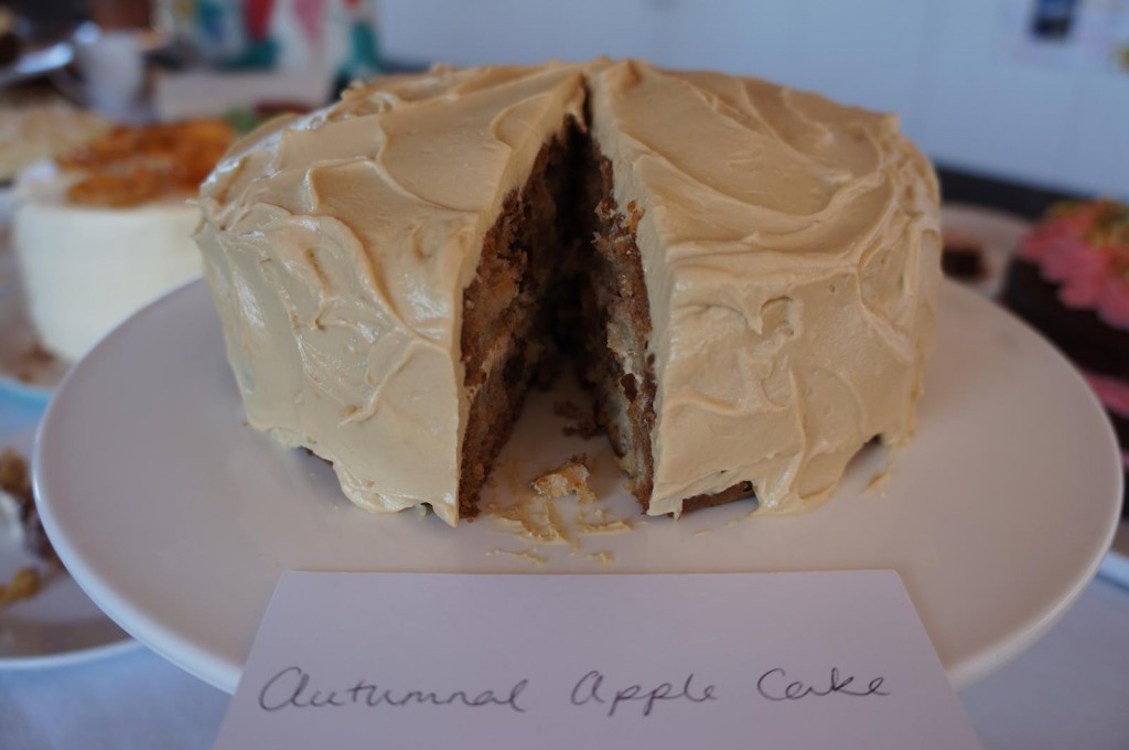 Our overall winner - Wenona's Autumnal Apple Cake