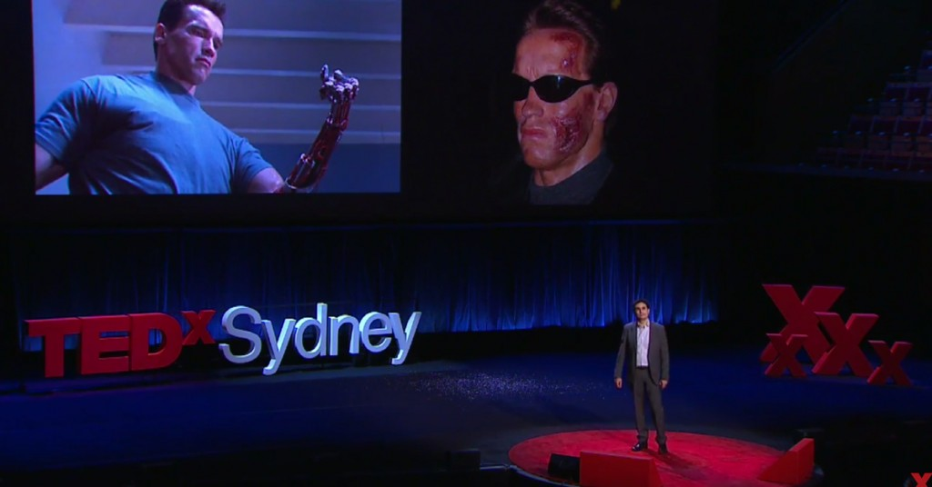 Munjed al Muderis at TEDx