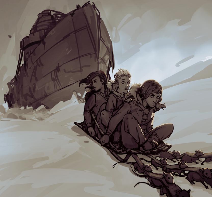 Ice Breaker sketch 2