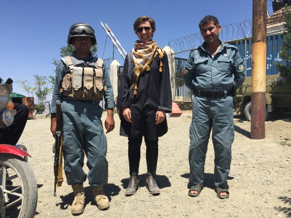 Eddie Ayres in Kabul, where he taught cello at the Afghanistan National Institute of Music.