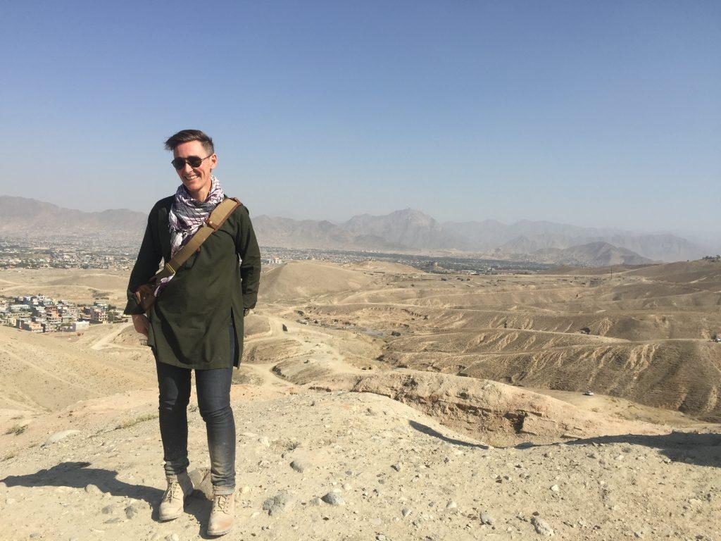Eddie Ayres in Afghanistan